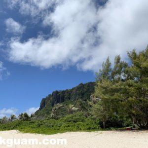 グアム リティディアンビーチ guam ritidian beach 行き方 トイレ 営業時間